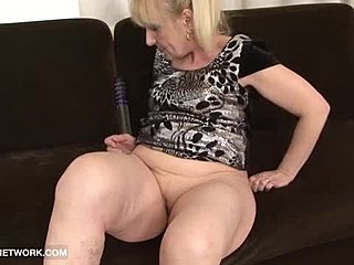 Bent over, Grandmother, Assfucking, Anal, Doggystyle, Cumshot, Old