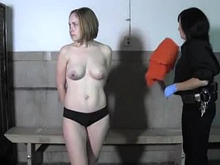 Will Sexy girl nude in jail think, that